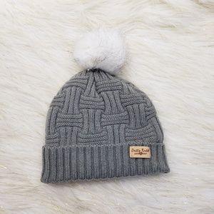 Britt's Knits Crochet Fleece Lined Beanie Hat